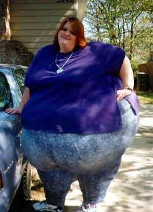 چاقی تا این حد !!!