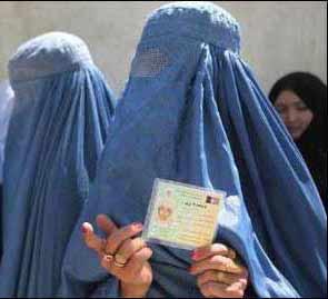عکس زن طالبانی !!!